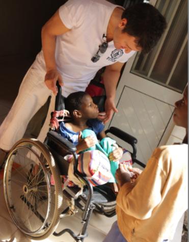 fundacion ivan manero - niños discapacitados