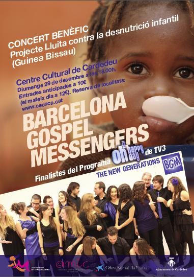 concert gospel messengers
