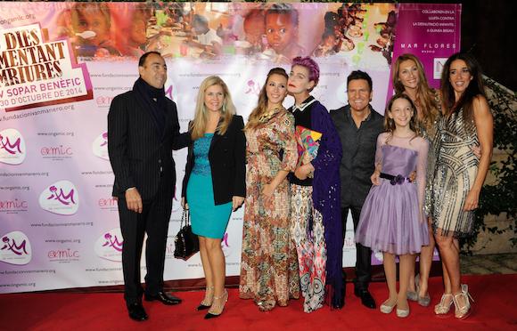 También nos acompañaron Lorenzo y Giovanna Quinn, Gisela, Antonia Dell'Atte, Paula Vélez, Mónica Pont y Elsa Anka