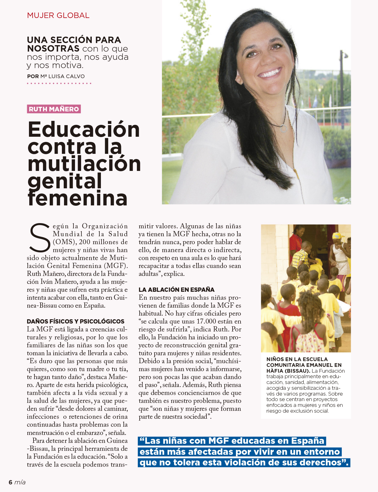Entrevista Ruth Mañero